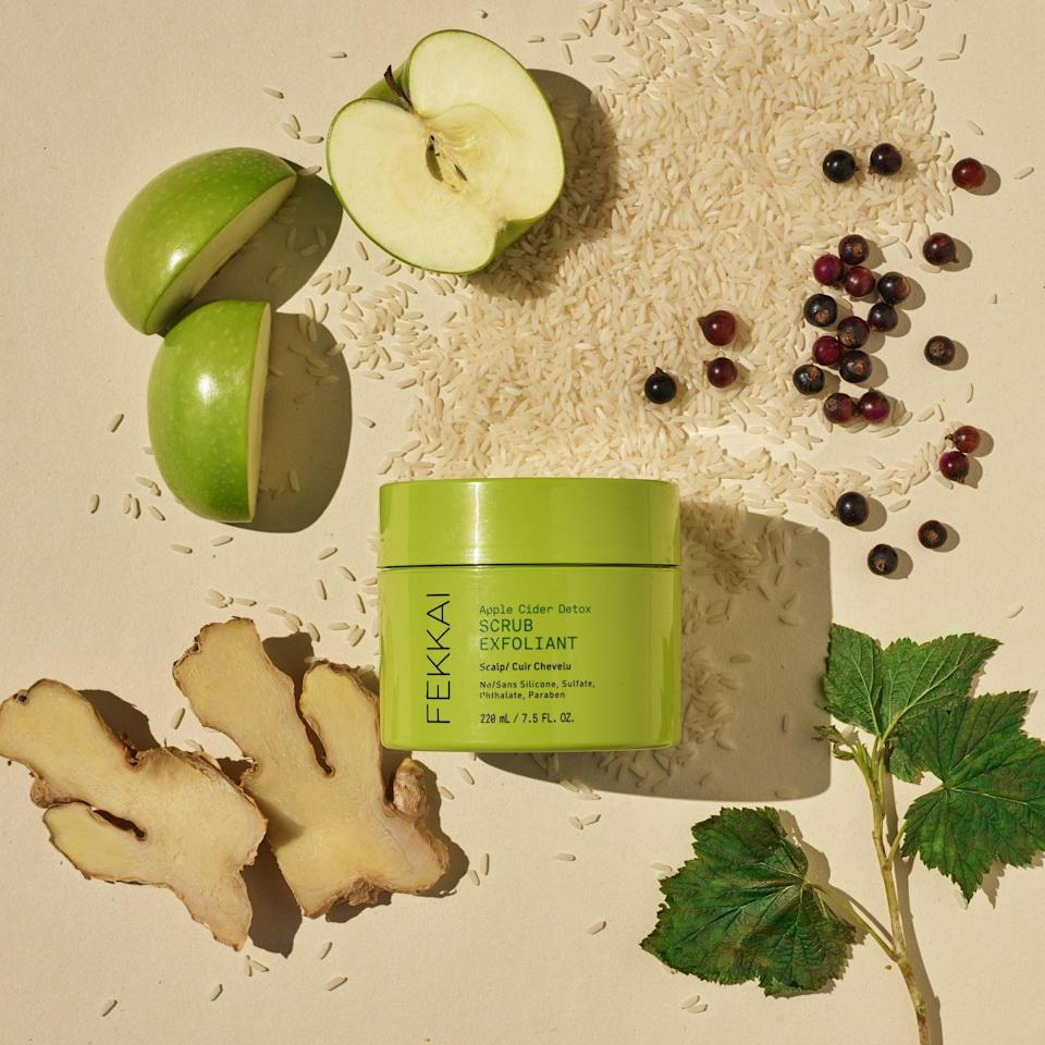 <p>I absolutely loved using the <span>Fekkai Apple Cider Detox Scrub</span> ($30) to diminish scalp build-up, dryness, and flakes. It's definitely going to be a regular part of my winter hair care routine to keep my scalp balanced, nourished, and flake-free during the colder, drier months. </p> <p>Even the scent was absolutely intoxicating. It smelt like crisp, deliciously sweet green apples. I honestly stand in the shower and take a big whiff of it sometimes. It did not have that potent apple cider vinegar scent at all. It's a very fruity fall scent that will get you in the mood for apple cider donuts and pie.</p>