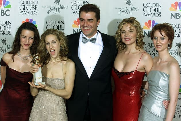Chris Noth (center) with his