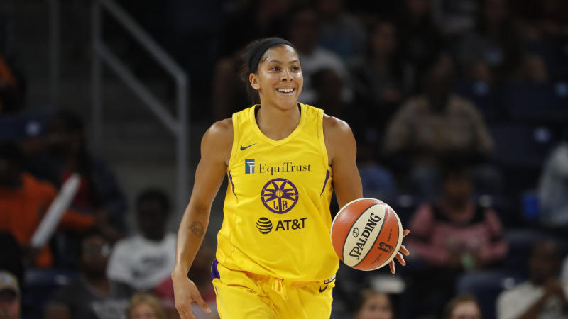 Los Angeles Sparks' Candace Parker.