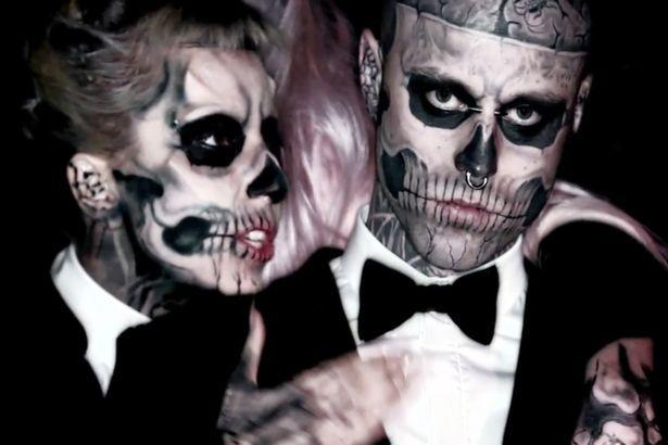 Rick Genest, 'Zombie Boy,' from Lady Gaga's 'Born This Way' video has died from an apparent suicide. (Photo: YouTube)