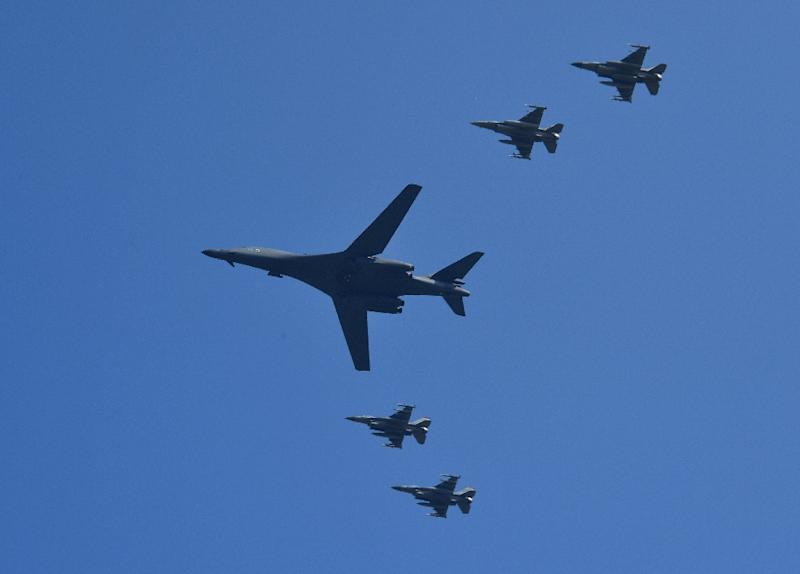 United States Sends B-1B Bombers to South Korea