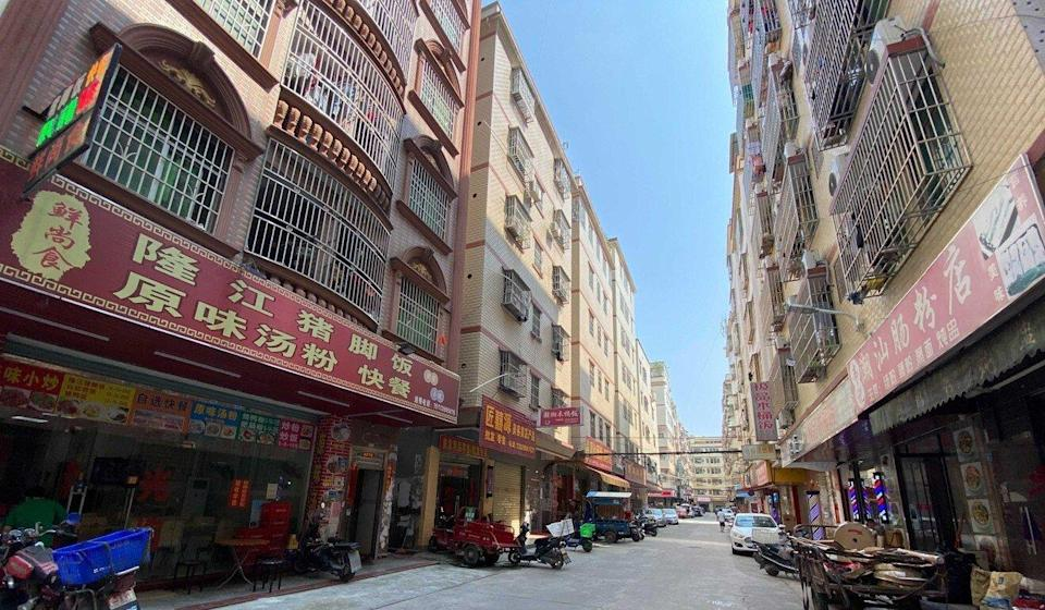 Dozens of restaurants and shops have recently opened in Huizhou, Guangdong province. Photo: He Huifeng