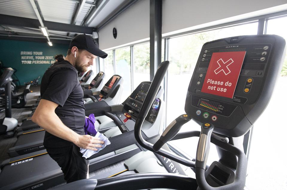 <p>The budget fitness giant said it has all cleaning and safety measures in place ahead of reopening on Monday </p> (PA)