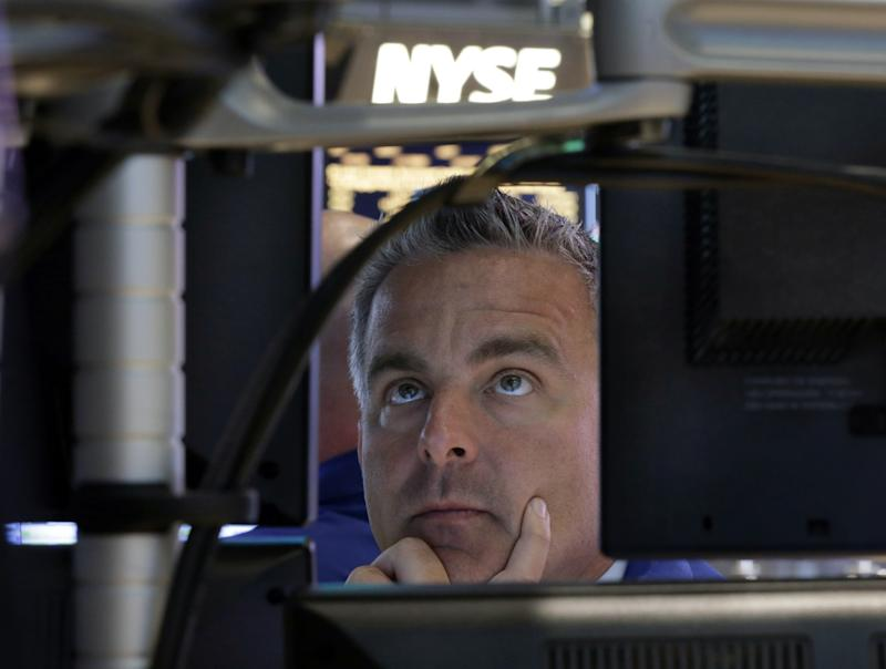 Stock market slips after record-setting day