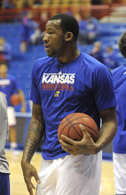 Cliff Alexander has missed the Jayhawks' past two games. (USA Today)