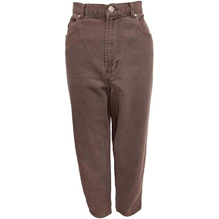 "<br> <br> <strong>Van Heusen</strong> 90's Dark Taupe Jeans by Van Heusen - Plus Size, $, available at <a href=""https://go.skimresources.com/?id=30283X879131&url=https%3A%2F%2Fshopthrilling.com%2Fcollections%2Fplus-size%2Fproducts%2F90-s-dark-taupe-jeans-by-van-heusen"" rel=""nofollow noopener"" target=""_blank"" data-ylk=""slk:Thrilling"" class=""link rapid-noclick-resp"">Thrilling</a>"