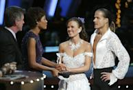 <p>Probs the most successful <em>Bachelor</em> alum in terms of relationships was the *least* successful on S1 of <em>DWTS</em>. (She got last place. Womp womp.)</p>