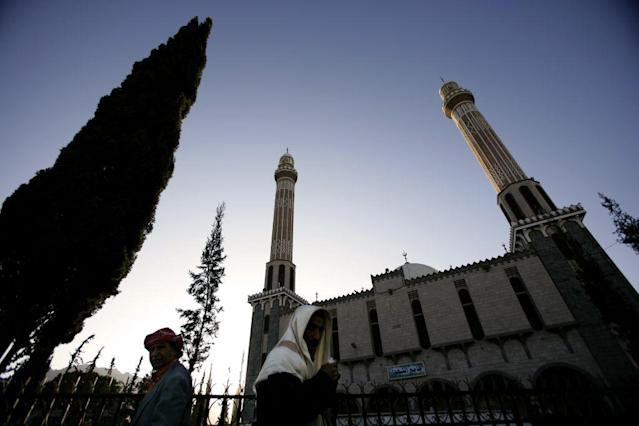<b>SANA'A, YEMEN:</b> A view of the Martyr's Mosque in Sana'a, Yemen. The Martyr's Mosque was built by the Yemeni Government as a tribute to its fallen soldiers.