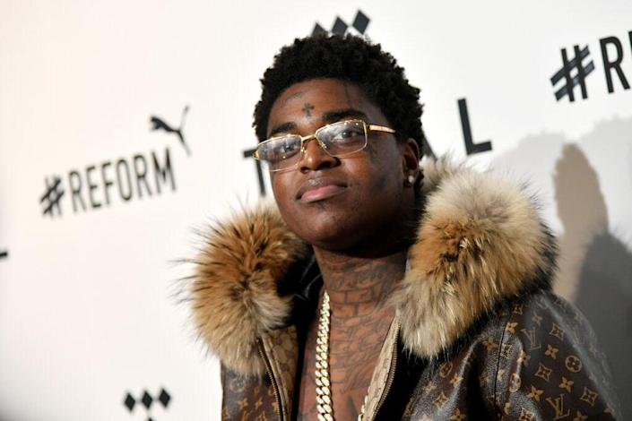 Kodak Black attends the 4th Annual TIDAL X: Brooklyn at Barclays Center of Brooklyn on October 23, 2018 in New York City. (Photo by Mike Coppola/Getty Images for TIDAL)
