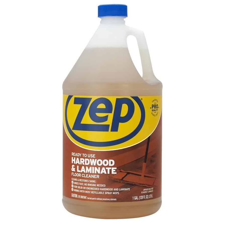 """<p><strong>Zep</strong></p><p>lowes.com</p><p><strong>$8.97</strong></p><p><a href=""""https://go.redirectingat.com?id=74968X1596630&url=https%3A%2F%2Fwww.lowes.com%2Fpd%2FZep-Hardwood-and-Laminate-128-fl-oz-Pour-Bottle-Liquid-Floor-Cleaner%2F3621294&sref=https%3A%2F%2Fwww.housebeautiful.com%2Flifestyle%2Fcleaning-tips%2Fg36384511%2Fbest-hardwood-floor-cleaners%2F"""" rel=""""nofollow noopener"""" target=""""_blank"""" data-ylk=""""slk:BUY NOW"""" class=""""link rapid-noclick-resp"""">BUY NOW</a></p><p>A great option for the spraying and wiping technique to undertake on your hardwood floors, the <a href=""""https://www.lowes.com/pl/Zep--Floor-cleaners-Floor-cleaning-Cleaning-supplies/4294598979?refinement=193615817"""" rel=""""nofollow noopener"""" target=""""_blank"""" data-ylk=""""slk:Zep"""" class=""""link rapid-noclick-resp"""">Zep </a>hardwood and laminate solution restores the luster and shine to your flooring. Simply spray and wipe the surface with a dry mop or towel, and, when finished with the hardwood floor, the versatile solution can be also applied to cabinets, crown molding, and laminate surfaces. If you're in a hurry, this solution is fast-drying so you can move onto other cleaning tasks efficiently.</p>"""