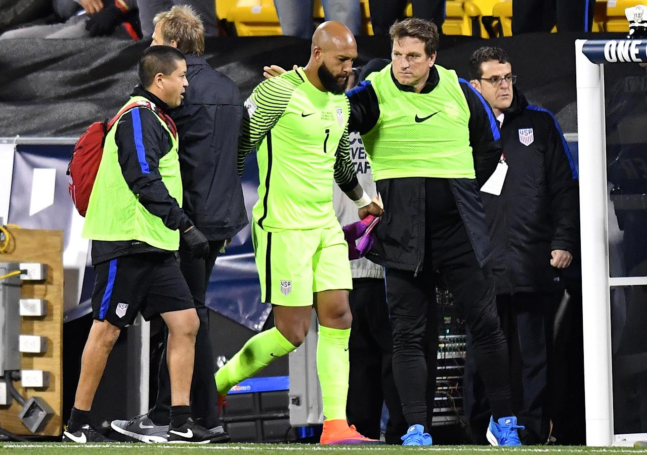 With Tim Howard out, Jurgen Klinsmann has a mess of his own making in goal