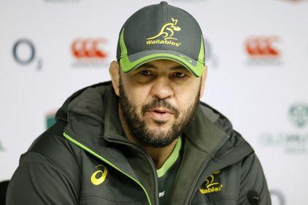 Britain Rugby Union - Australia Press Conference - Twickenham Stadium - 2/12/16 Australia head coach Michael Cheika during the press conference Action Images via Reuters / Andrew Boyers Livepic