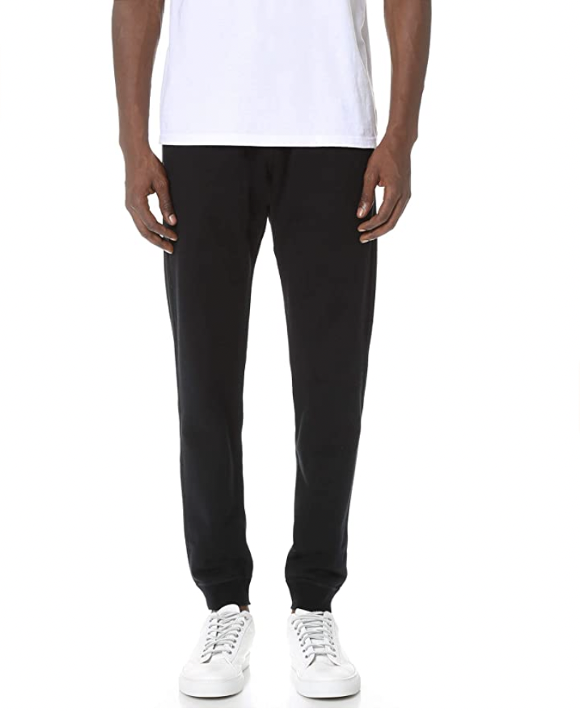 """<p><strong>Reigning Champ</strong></p><p>amazon.com</p><p><strong>$120.00</strong></p><p><a href=""""https://www.amazon.com/dp/B01E9AR57M?tag=syn-yahoo-20&ascsubtag=%5Bartid%7C10054.g.37623756%5Bsrc%7Cyahoo-us"""" rel=""""nofollow noopener"""" target=""""_blank"""" data-ylk=""""slk:Shop Now"""" class=""""link rapid-noclick-resp"""">Shop Now</a></p><p>Reigning Champ remains the, well, reigning champ of the sweatpants game because it consistently offers styles, like this option, that look just too good to pass up. </p>"""