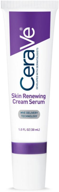 """<h3><a href=""""https://www.ulta.com/skin-renewing-retinol-cream-serum-fine-lines-wrinkles?productId=xlsImpprod12041693"""" rel=""""nofollow noopener"""" target=""""_blank"""" data-ylk=""""slk:CeraVe Skin Renewing Retinol Cream Serum"""" class=""""link rapid-noclick-resp"""">CeraVe Skin Renewing Retinol Cream Serum</a> </h3> <br>Three types of ceramides (1, 3, and 6-II) meet encapsulated retinol for a serum that's not only hydrating and fortifying for the skin barrier, but is totally fragrance-free and ideal for sensitive skin types.<br><br><strong>CeraVe</strong> Skin Renewing Retinol Cream Serum, $, available at <a href=""""https://www.ulta.com/skin-renewing-retinol-cream-serum-fine-lines-wrinkles?productId=xlsImpprod12041693"""" rel=""""nofollow noopener"""" target=""""_blank"""" data-ylk=""""slk:Ulta Beauty"""" class=""""link rapid-noclick-resp"""">Ulta Beauty</a><br>"""
