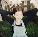 """<p>Actress Anne Hathaway, reflecting on her younger self: """"#TGIFBF Aw, look at this little dork."""" -<a href=""""https://www.instagram.com/p/BBsj9UEl0J6/"""" rel=""""nofollow noopener"""" target=""""_blank"""" data-ylk=""""slk:@annehathaway"""" class=""""link rapid-noclick-resp"""">@annehathaway</a> (Instagram)<br></p>"""