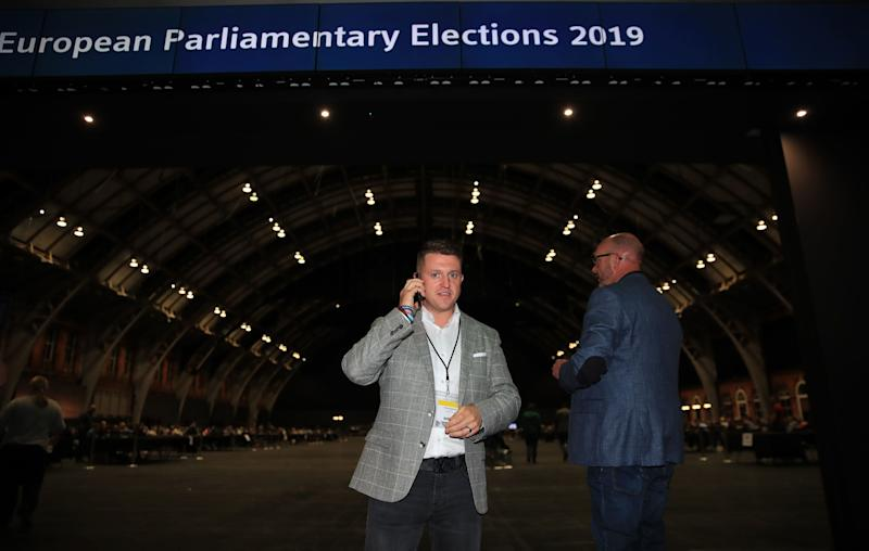 Far-right activist Tommy Robinson has lost his bid to become an independentmember of the European Parliament
