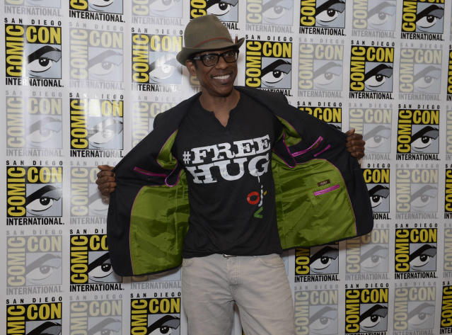 """Sleepy Hollow"" star Orlando Jones on Friday, July 19 at the Fox Fanfare At San Diego Comic-Con 2013."
