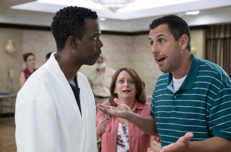 Adam Sandler, Chris Rock star in new Netflix wedding comedy