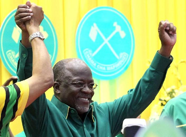 Tanzania's new President John Magufuli (pictured) has cancelled Independence Day celebrations -- due next week -- traditionally a time for the government to spend big on a public display of nationalism (AFP Photo/)