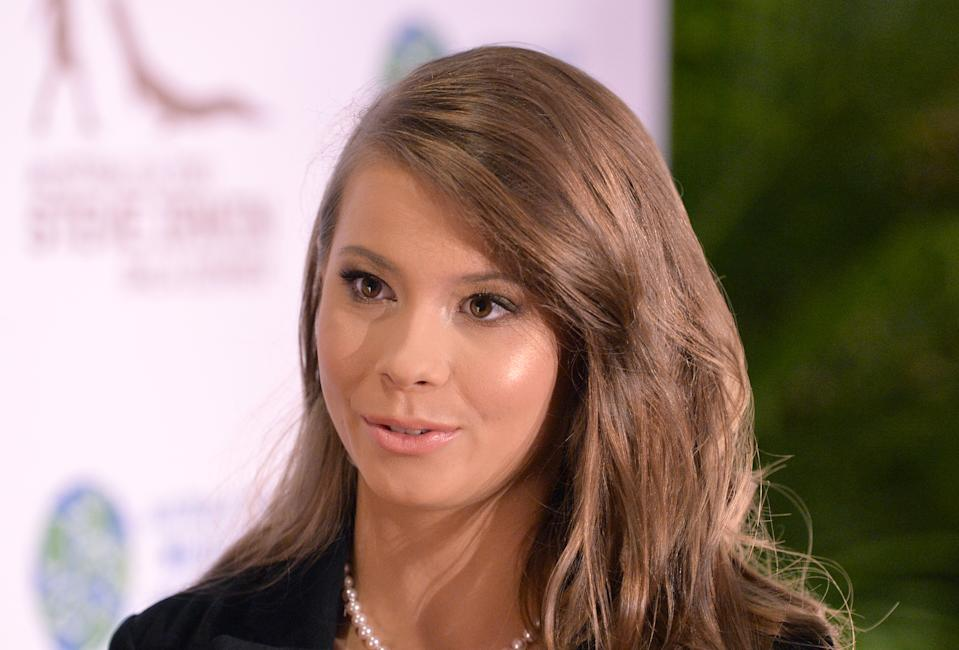Bindi Irwin attends the annual Steve Irwin Gala Dinner at Brisbane Convention & Exhibition Centre on November 09, 2019 in Brisbane, Australia. (Photo by Bradley Kanaris/Getty Images)