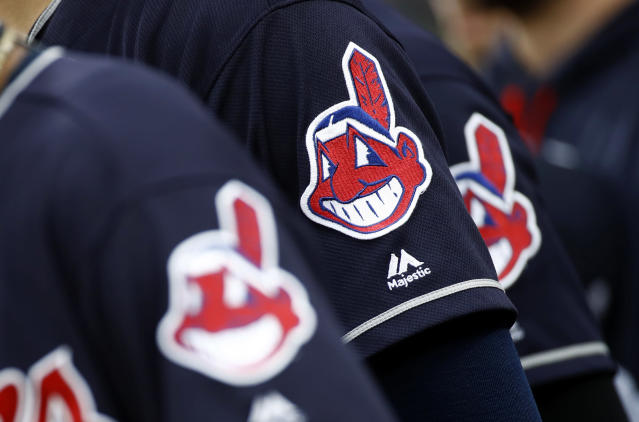 The Chief Wahoo logo has seen increased scrutiny in recent years. (AP Photo/Patrick Semansky)