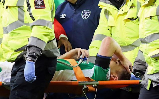 <span>It's a long road back for Seamus Coleman</span>