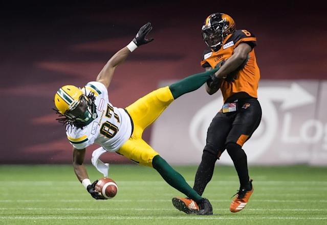 Van carries Lions over Eskimos 31-23; Lulay reaches 20,000 career passing yards