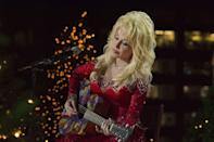 <p>In 2016, Dolly joined Tony Bennett, Neil Diamond, Josh Groban, Tori Kelly and more in performing in the ceremonial lighting of the Rockefeller tree.</p>