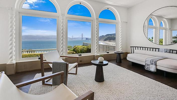 Look out to the ocean and city from almost every part of the house. - Credit: Photo: Courtesy of Lunghi Media Group for Sotheby's International Realty
