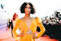 "<em>Pose</em> star Mj Rodriguez is brand new to Hollywood and already making history. A trans Black Latina, Rodriguez is bringing much-needed representation to a community that is often overlooked. <a href=""https://www.nytimes.com/2019/08/15/style/pose-star-mj-rodriguez-had-to-teach-simply-by-existing.html"" rel=""nofollow noopener"" target=""_blank"" data-ylk=""slk:Rodriguez has noted"" class=""link rapid-noclick-resp"">Rodriguez has noted</a> that, simply by existing, she's been able to educate and tell these stories in an authentic and truthful manner. and"