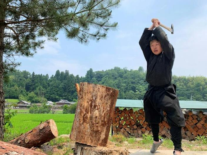 The Mie University set up the world's first research centre devoted to the ninja in 2017 (AFP Photo/Handout)