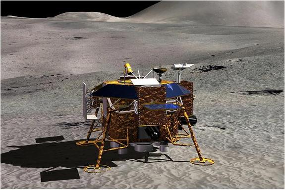China's next phase of its moon exploration program, the Chang'e-3 would soft land on the lunar surface and deploy instrument-laden rover.