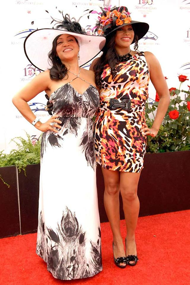 "Cheryl ""Salt"" James and Sandra ""Pepa"" Denton of the hip hop group Salt-N-Pepa channeled an animal vibe with ostrich and leopard-print inspired ensembles. Stephen J. Cohen/<a href=""http://www.filmmagic.com/"" target=""new"">FilmMagic.com</a> - May 1, 2010"