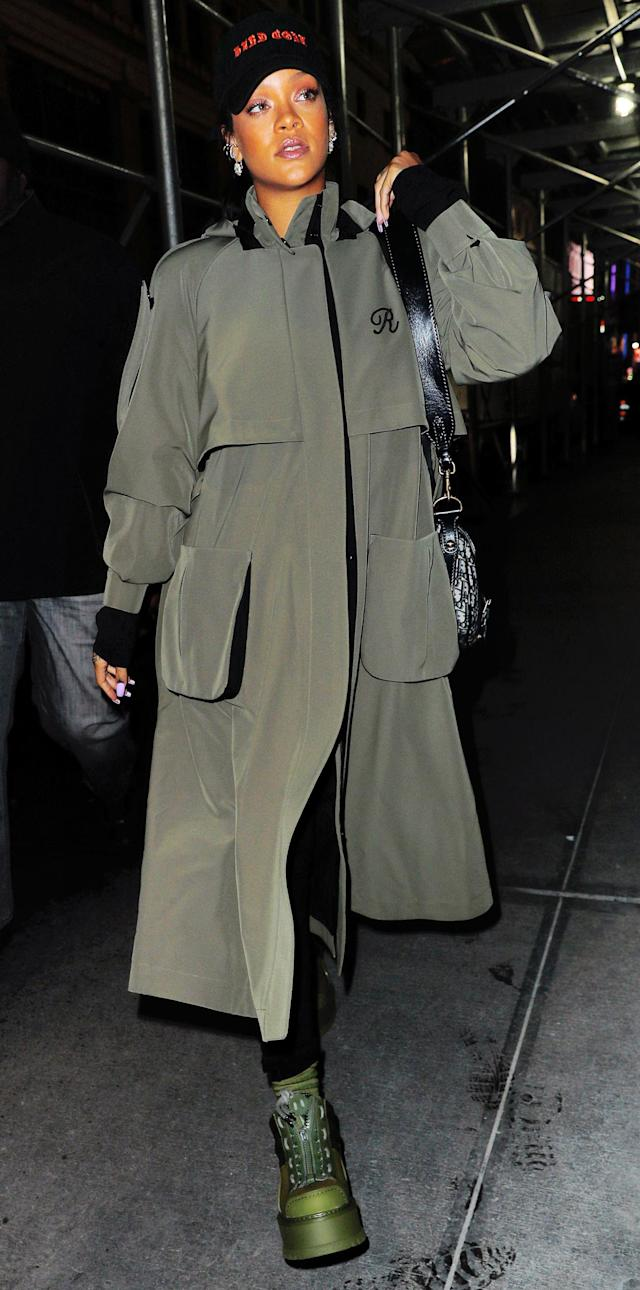 4b30799a8a82  p The music industry s resident bad gal stepped out in N.Y.C. on Monday in