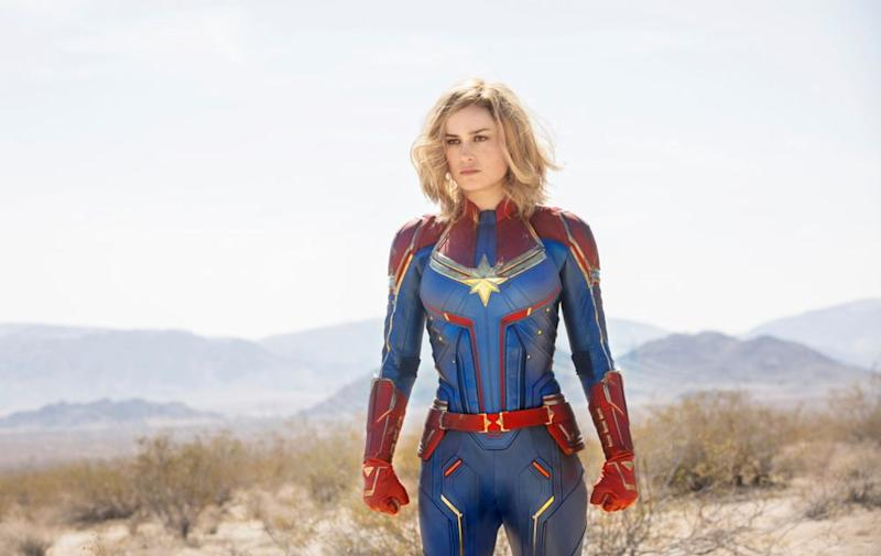 Brie Larson as Captain Marvel | Marvel Studios