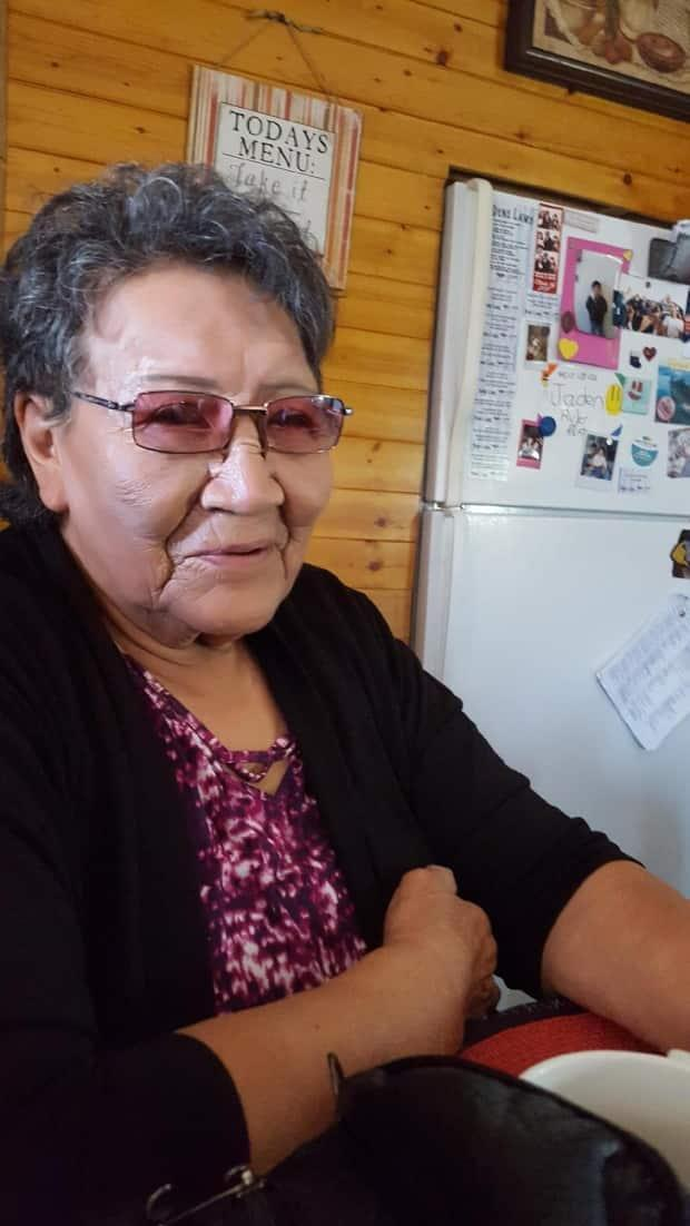 Sarazine Boucher, an elder in  Łutsël K'é, says it's been 10years if not more since they've had new houses