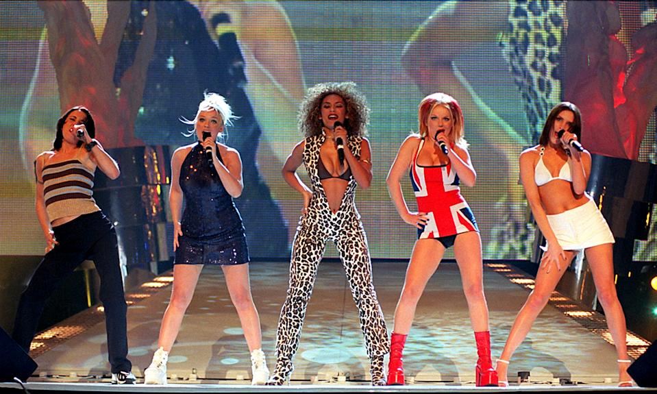 The Spice Girls most-played song on TV and radio since 2000 has been named. (Photo by Fiona Hanson - PA Images/PA Images via Getty Images)