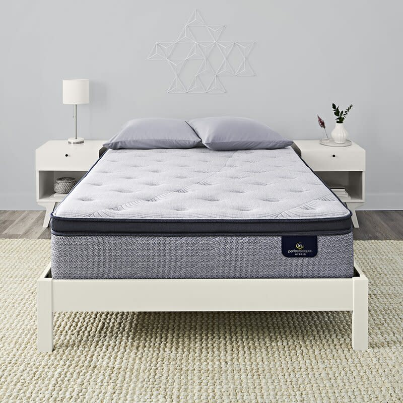 "Serta Perfect Sleeper 15"" Standale II Firm Pillow Top Mattress (Photo: Wayfair)"