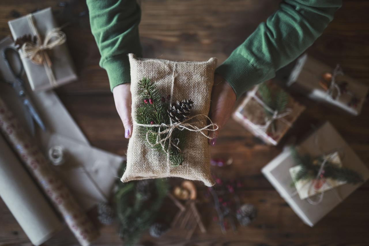 """<p><strong><a href=""""https://www.housebeautiful.com/uk/christmas/"""">Christmas</a> is just around the corner and preparations are in full swing for the special day, but while it's the most wonderful time of the year, it can also be one of the most polluting.</strong> </p><p>The festive season is traditionally the period of peak consumption, when we go all out on gifts and food to impress our guests. But you can host an eco-friendly Christmas without skimping on the festive magic with a little expert know-how. <br></p><p><strong></strong>From the tree you buy to the food you eat, everything – no matter how big or small – can make a huge difference. In fact, in just over three days of festivities, the average Brit will create the same level of carbon emissions as they would on a flight from London to Los Angeles.</p><p>We round up the best ways to have a greener, more sustainable Christmas...   </p>"""