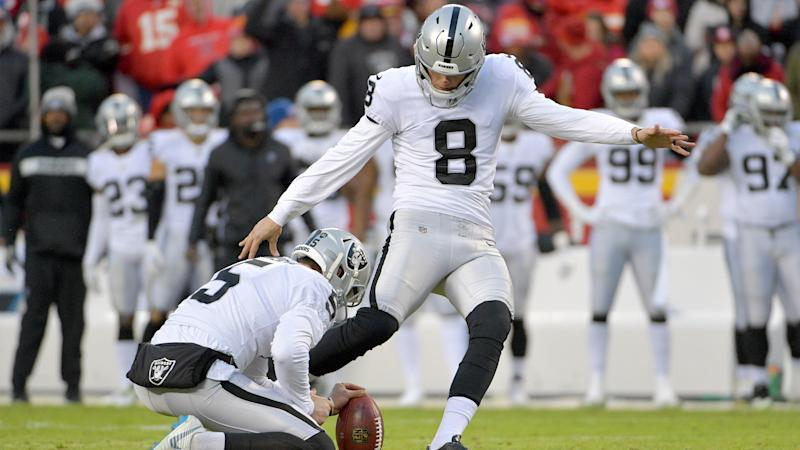 Daniel Carlson looks 'really strong' in Raiders camp after rough season