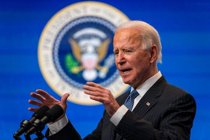 President Joe Biden is pressing his case for $1.9 trillion in COVID relief following a lackluster jobs report released by the Labor Department on Friday.