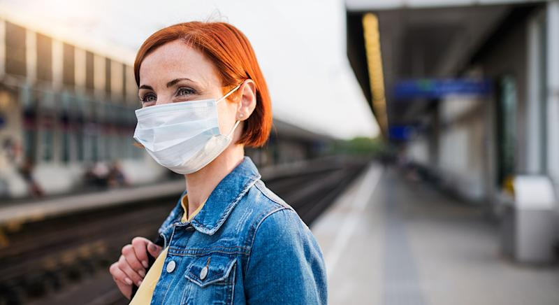 John Lewis & Partners have restocked its £10 non medical face masks after selling out last month. (Getty Images)