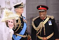 <p>Sticking with the royal theme, Savannah Guthrie wore all the bells and whistles while dressing up as Prince Charles. And Al Roker went so far as to wear a red wig to really get in character as the lovable Prince Harry.</p>