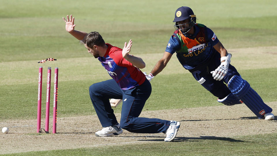 England swept their recent T20 series against Sri Lanka 3-0. (Photo by ADRIAN DENNIS/AFP via Getty Images)