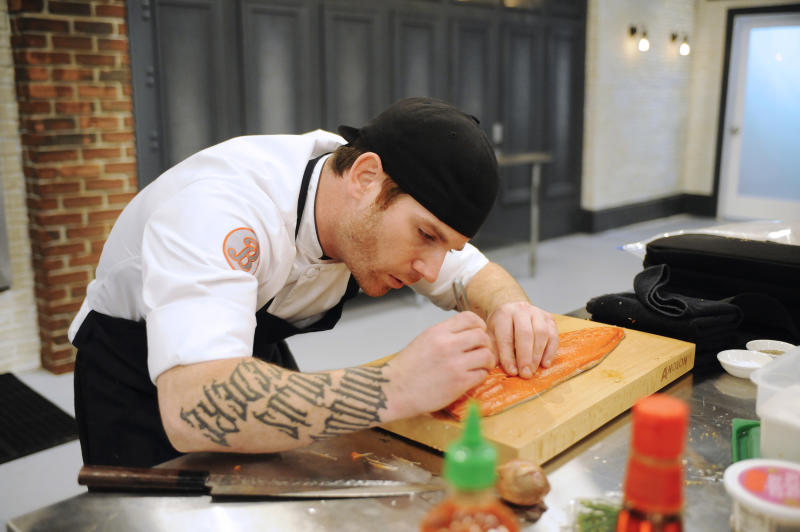Aaron Grissom on Top Chef 2014