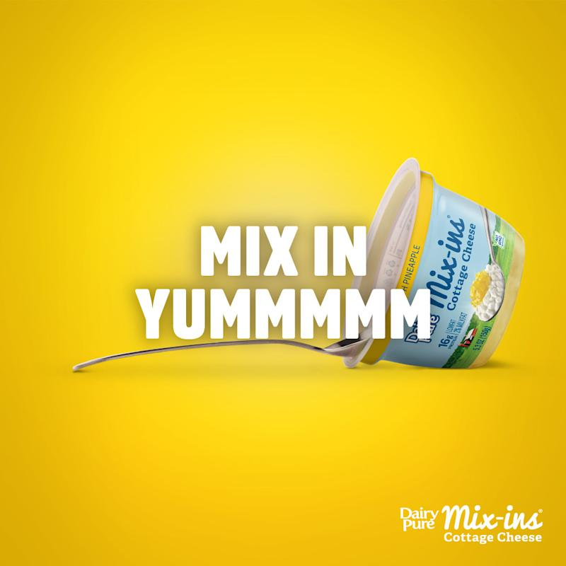 DairyPure Mix-ins Pineapple