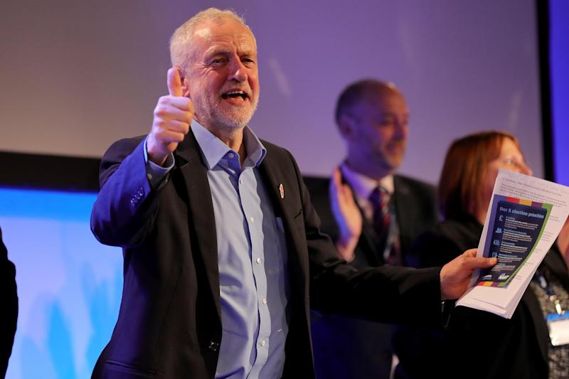 Labour leader Jeremy Corbyn is to make the police numbers pledge on Tuesday: Getty