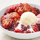 """<p>Yes, you can totally make fruit cobblers in your Instant Pot — just don't forget that finishing touch of ice cream on top!</p><p><em><a href=""""https://www.delish.com/cooking/recipe-ideas/a27408748/instant-pot-cobbler-recipe/"""" rel=""""nofollow noopener"""" target=""""_blank"""" data-ylk=""""slk:Get the recipe from Delish »"""" class=""""link rapid-noclick-resp"""">Get the recipe from Delish »</a></em> </p>"""