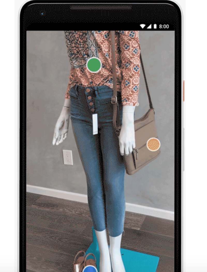 Style Match simply requires you to point your camera at an item (Google)