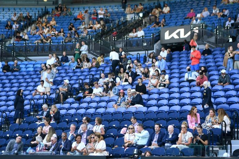 The Australian Open has welcomed tens of thousands of socially distanced fans